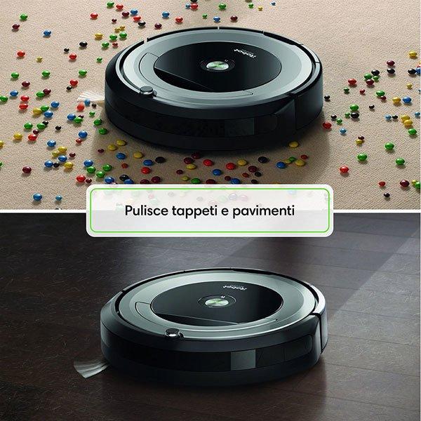 iRobot-Roomba-680-pulisce