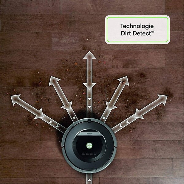 iRobot-Roomba-871-dirt-detect